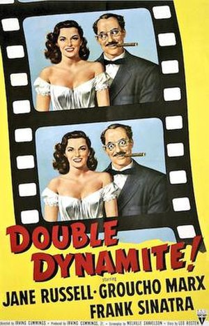 Double Dynamite - Original US cinema poster