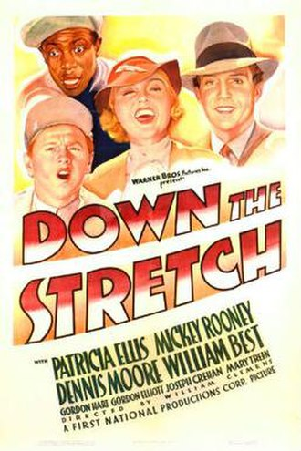 Down the Stretch - Theatrical release poster