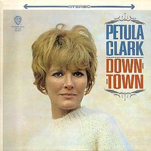 Downtown (Petula Clark album) - Image: Downtown warner bros