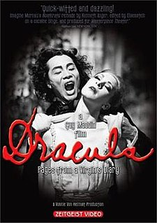 <i>Dracula: Pages from a Virgins Diary</i> 2002 film by Guy Maddin