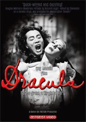 Dracula: Pages from a Virgin's Diary - Region 1 DVD cover