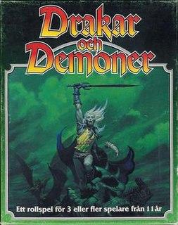 Drakar och Demoner fantasy role-playing game