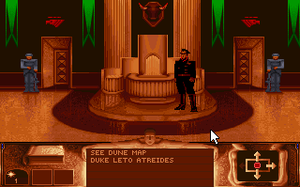 Dune (video game) - PC screenshot (floppy version)
