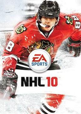 <i>NHL 10</i> 2010 ice hockey video game