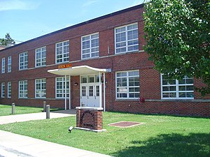 Communications School (United States Marine Corps) - Edson Hall, Quantico, VA