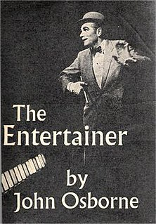 <i>The Entertainer</i> (play) play by John Osborne