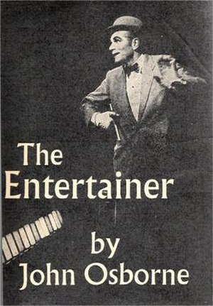 The Entertainer (play) - Cover of 1957 edition of script, showing Laurence Olivier as Archie Rice