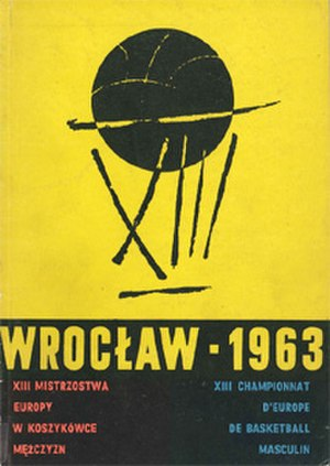EuroBasket 1963 - Image: Euro Basket 1963 logo