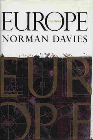 Europe: A History - Cover of the first edition