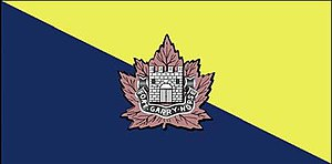 The Fort Garry Horse - The camp flag of the Fort Garry Horse.