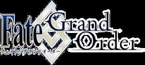 Fate/Grand Order - Image: Fate Grand Order logo