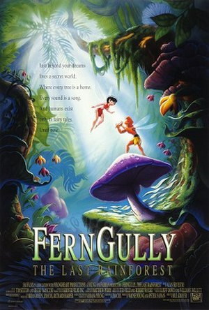 FernGully: The Last Rainforest - Theatrical release poster
