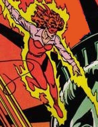 Firebrand (DC Comics) - Image: Firebrand (All Star Squadron no. 5)