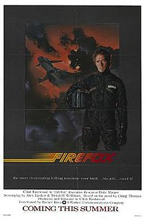 <i>Firefox</i> (film) 1982 American spy film directed by Clint Eastwood