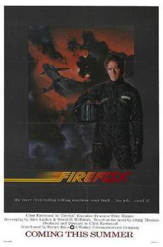 Firefox (film) - Theatrical release poster