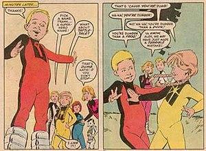 Franklin Richards (comics) - Image: Frankkttattletale