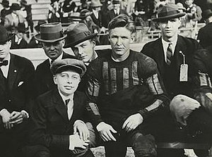 Gil Reese - Reese in uniform on the sidelines.