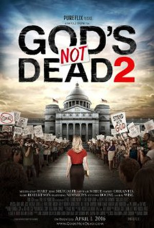 God's Not Dead 2 - Theatrical release poster