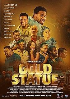 <i>Gold Statue</i> 2019 Nigerian comedy adventure drama film by Tade Ogidan