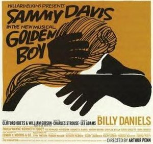 Golden Boy (musical) - Original Broadway Poster