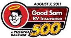 2011 Good Sam RV Insurance 500 - Image: Good Sam RV Insurance 500