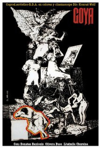 Goya or the Hard Way to Enlightenment - Film poster