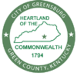 Greensburg, Kentucky - Image: Greensburg Seal