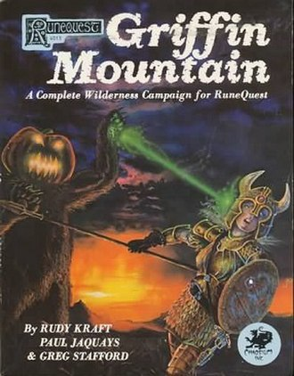 Griffin Mountain - Image: Griffin Mountain, RPG supplement