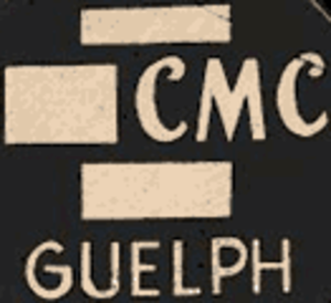Guelph Platers - Logo until 1972