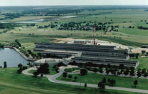 Halliburton - Halliburton Research Center in Duncan, Oklahoma, the city which was the original headquarters of Halliburton Company
