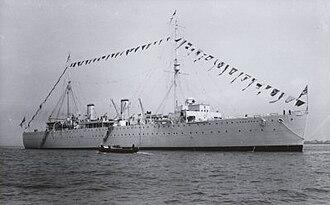 Depot ship - Image: HMS Woolwich 1934