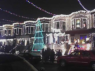 Miracle on 34th Street (Baltimore) - South side of 34th Street