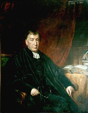 Robert Hawker - Portrait of Dr Robert Hawker, the most famous Vicar of the Charles Church