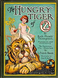 Cover of The Hungry Tiger of Oz.