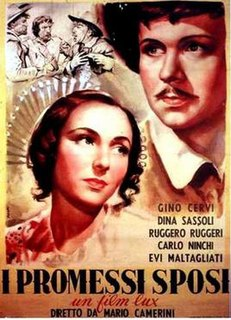 <i>The Betrothed</i> (1941 film) 1941 film by Mario Camerini