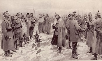 """Merry Christmas"" – a film about the 1914 truce (France, 2005)"