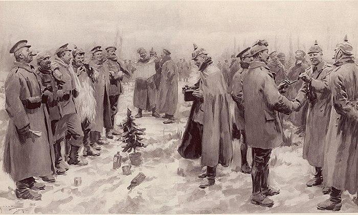 Illustrated London News - Christmas Truce 1914.