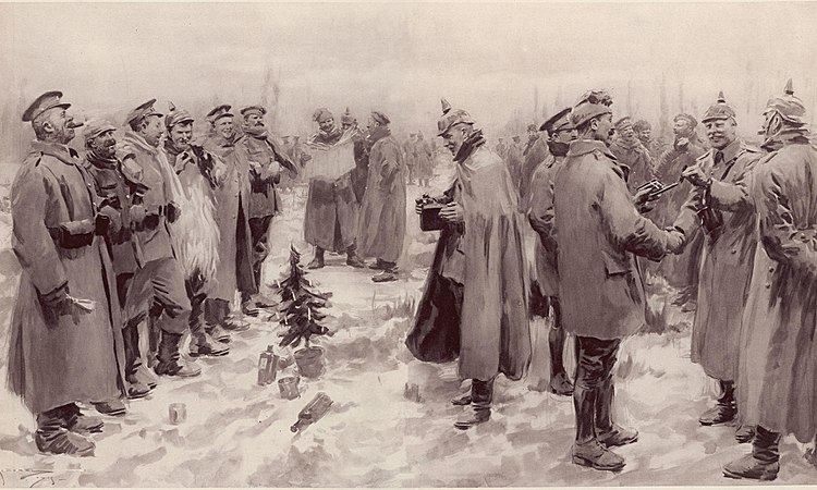 Illustrated London News - Christmas Truce 1914
