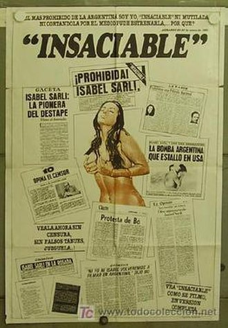Insaciable - Theatrical release poster