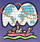 Its a small world wikipedia 1964 worlds fair its a small world ticket logo portion publicscrutiny Images