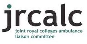 Joint Royal Colleges Ambulance Liaison Committee - Image: JRCALC logo