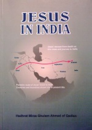 Jesus in India (book) - Book cover of 2003 English edition