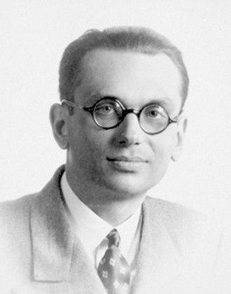 Kurt Gödel - Image: Kurt gödel
