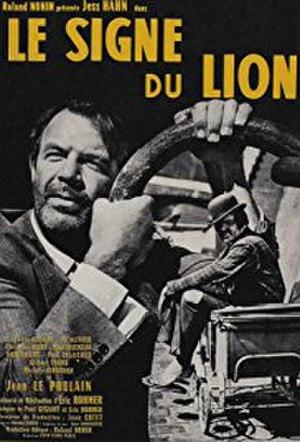Le Signe du Lion - French poster