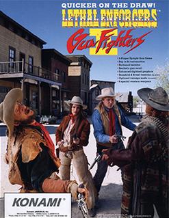 <i>Lethal Enforcers II: Gun Fighters</i> 1994 arcade video game