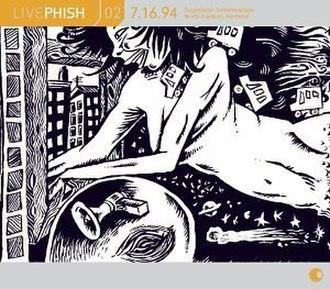 Live Phish Volume 2 - Image: Live Phish Volume 2 (Phish album) coverart