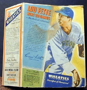 Lou Fette - Lou Fette, 1938 Wheaties Series