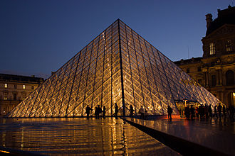Louvre Pyramid - The Louvre Pyramid