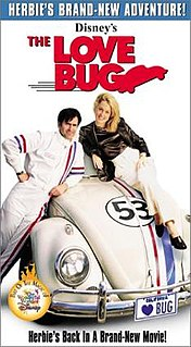 <i>The Love Bug</i> (1997 film) 1997 television film directed by Peyton Reed