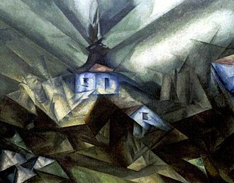 Lyonel Feininger - Lyonel Feininger, 1914, Benz VI, oil on canvas, 100 × 125 cm (39.3 × 49.2 in)